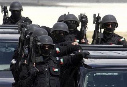 إصابة مرتب أمن عام في مداهمة بجبل النصر