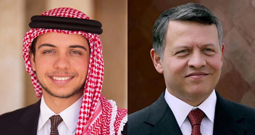 بالفيديو الملك وولي العهد يعزيان سلطان عمان بوفاة قابوس السبيل