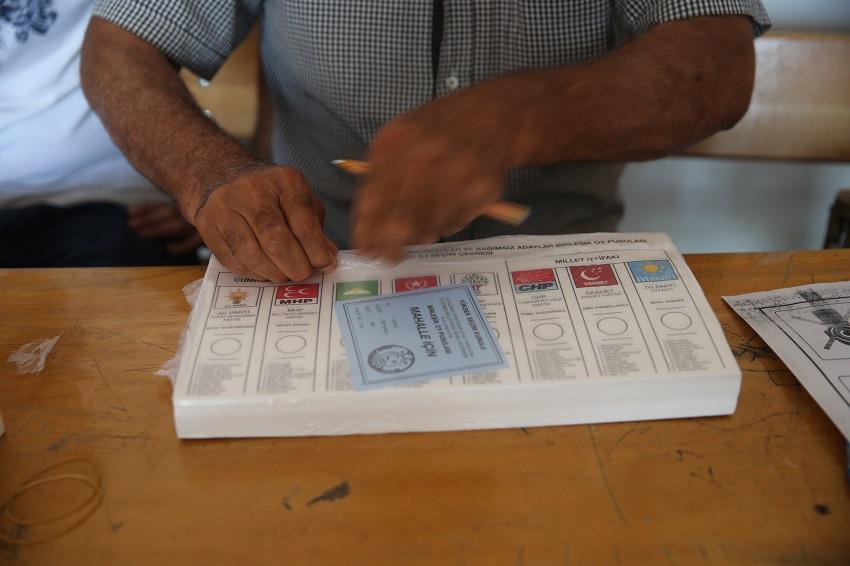 تركيا انتهاء عملية الاقتراع وبدء فرز أصوات الناخبين