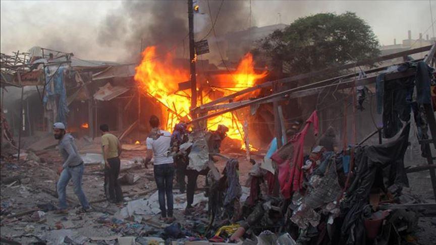 """مقتل 14 مدنيا في قصف للنظام السوري على منطقة """"خفض التصعيد"""""""